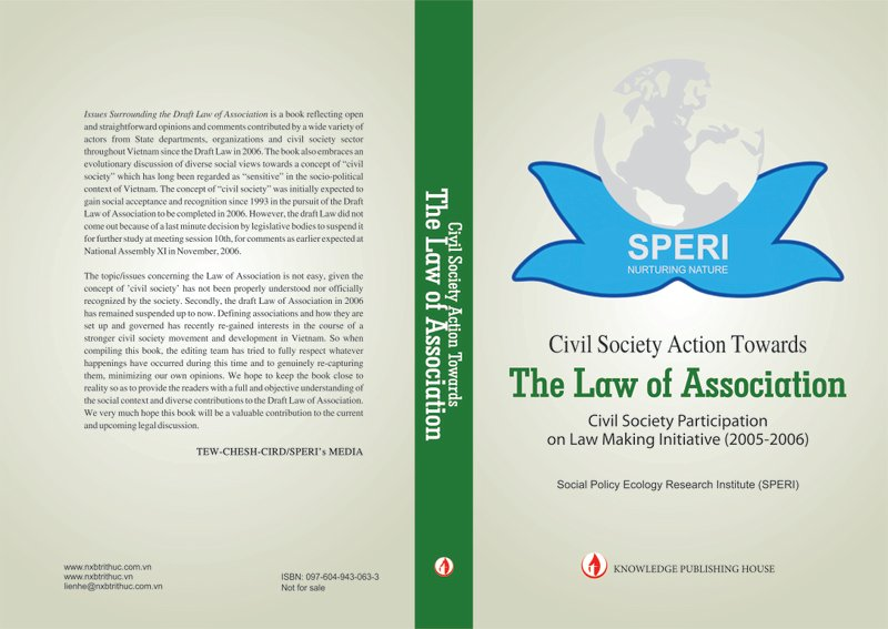 Book on Civil society action towards the Law of Association